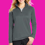 Ladies Smooth Fleece Base Layer 1/2 Zip