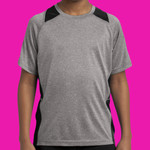 Youth Heather Colorblock Contender ™ Tee